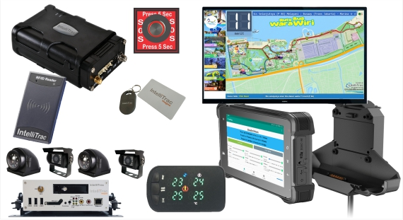 IntelliTrac Bus & Coach GPS Telematics Device