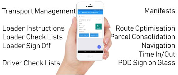 IntelliTrac Transport Management App